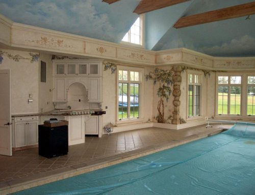 Pool House Kitchen