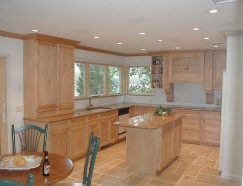 Maple kitchen