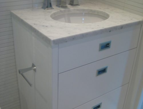 Studio 100 White Gloss Vanity