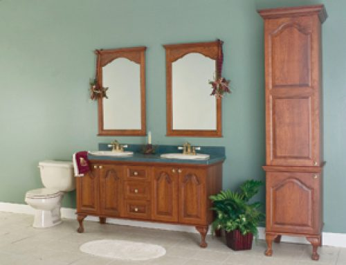 The Georgian Style vanity/collection